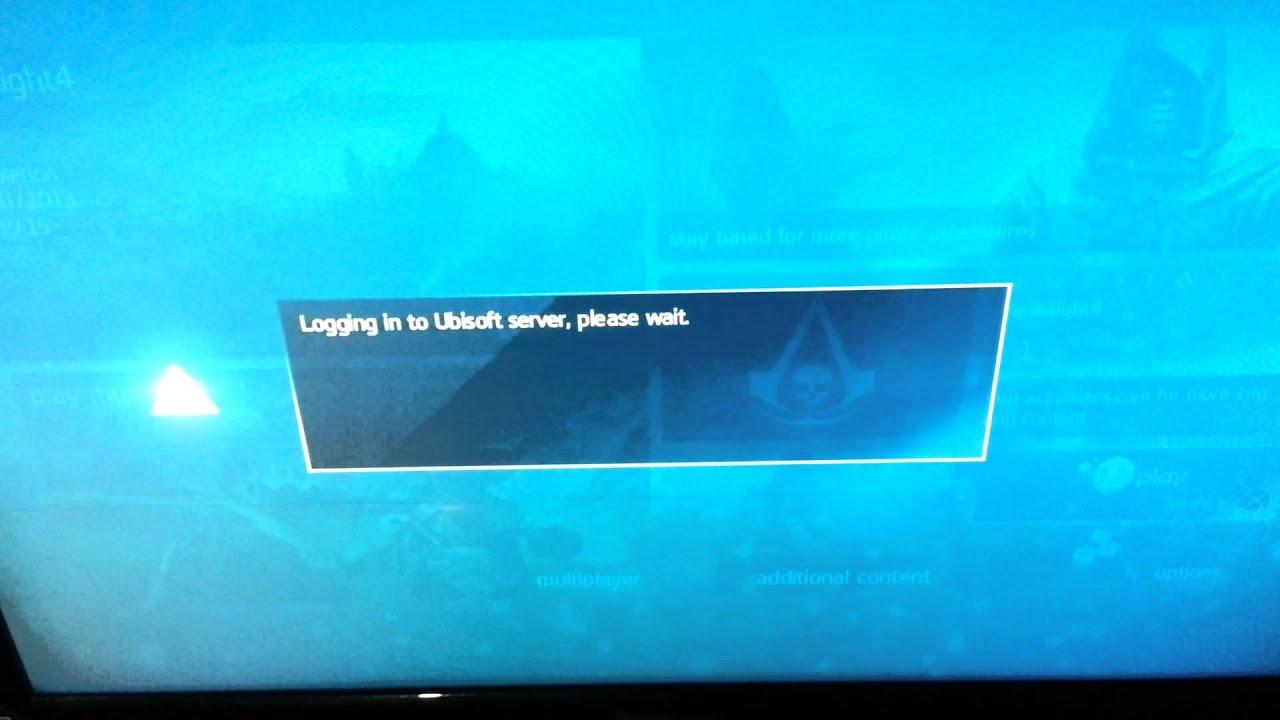 Assassin's Creed Black Flag Ps4 Uplay Error