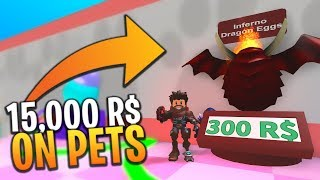 *NEW UPDATE* BUYING EVERY PET FOR 15,000 ROBUX in SPACE BLOB SIMULATOR (Roblox)