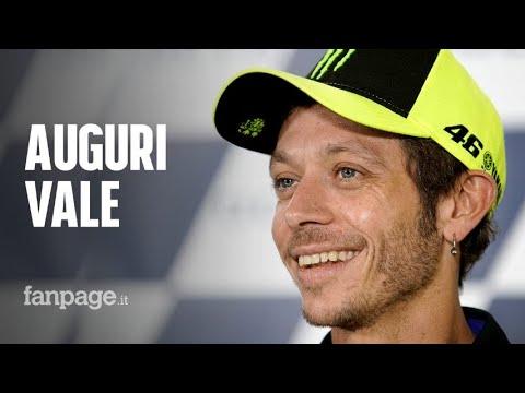 Valentino Rossi compie 41 anni, auguri a un campione intramontabile leggenda dello sport mondiale