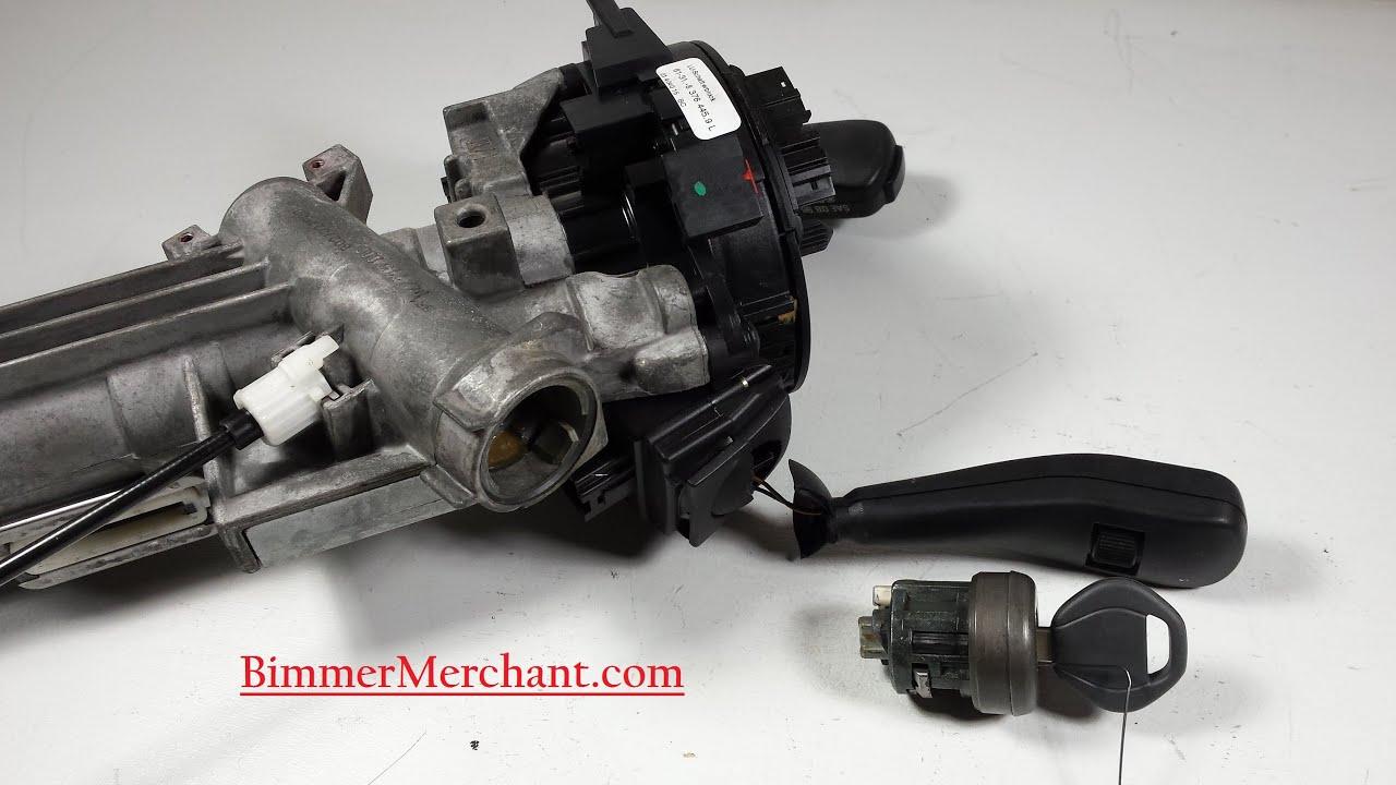 Bmw Ignition Key Tumbler Removal 740 540 530 330 325 Youtube 1984 318i Engine Diagram