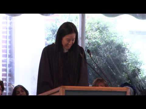 Vera Wang '71, keynote address to the Class of 2013: Sarah Lawrence College 85th Commencement