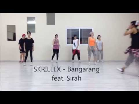 SKRILLEX  Bangarang feat Sirah  Choreography