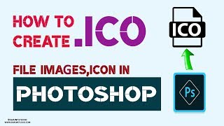 How to Create (.ICO) FAVICON File in Photoshop Best Way to create your own  ICO File