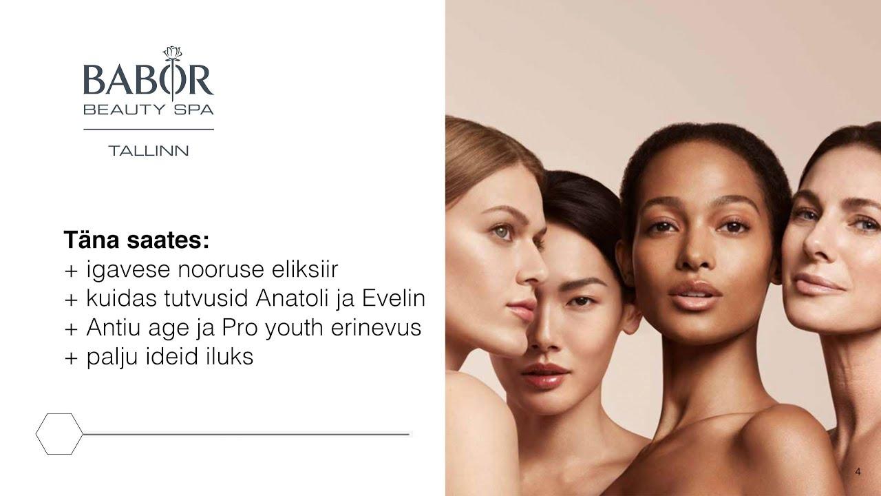 BABOR Beauty Spa Tallinn saates Elustiil 12.01.2020 - YouTube