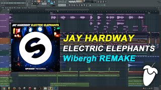 Jay Hardway - Electric Elephants (Original Mix) (FL Studio Remake + FLP)
