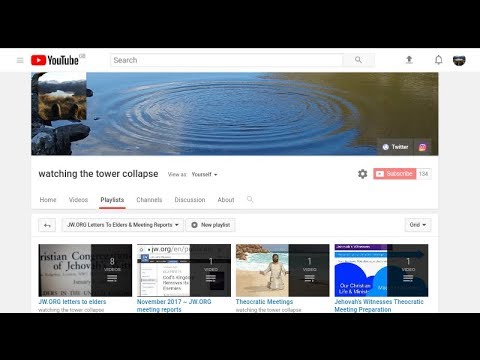 JW ORG Jehovah's Witnesses Meetings on YouTube - YouTube