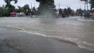 Aurora,Colorado Flash Flood