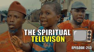 THE SPIRITUAL TELEVISION epiosde215 (PRAIZE VICTOR COMEDY)