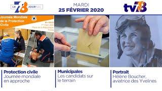 7/8 Le Journal. Edition du mardi 25 février 2020