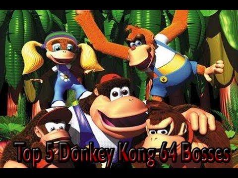 My Top 5 Favorite Donkey Kong 64 Bosses :) - YouTube  My Top 5 Favori...