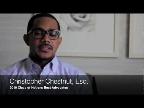 A Brief Interview with Christopher Chestnut, Esq.