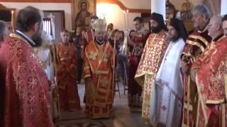 Двамата митрополити Анфилохий от Адрианопол и Киприан от Стара Загора проведоха служба в Одрин