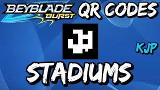 Beyblade Burst QR Codes (Stadiums)