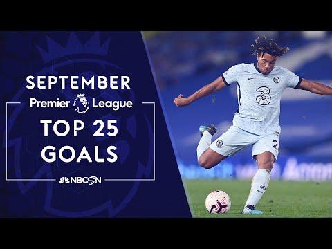 Top 25 Premier League goals in September 2020 | NBC Sports
