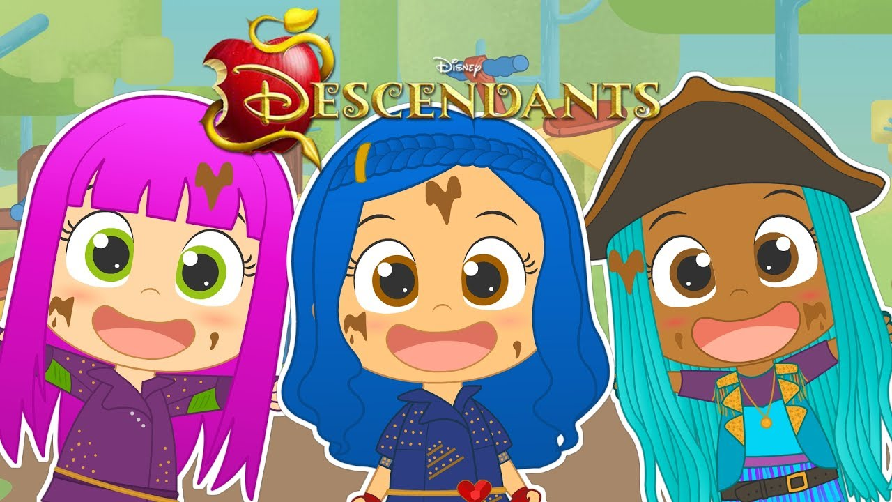 Five Little Babies Descendants 2 Song With Disney