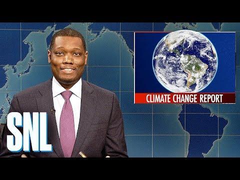 Weekend Update: U.N.'s Climate Change Report - SNL
