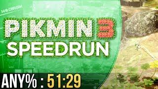 Pikmin 3 Any% Speedrun in 51:29