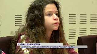 Magny-les-Hameaux : le rôle du conseil municipal expliqué aux plus jeunes