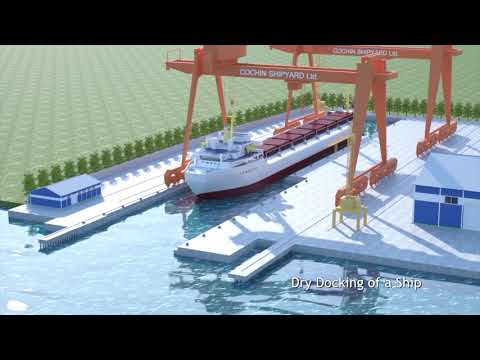 Dry Dock - Cochin Shipyard