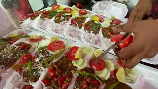Super Fast Chole Kulche Wala of Faridabad Haryana | Kashyap ke Chole Kulche | Indian Street Food