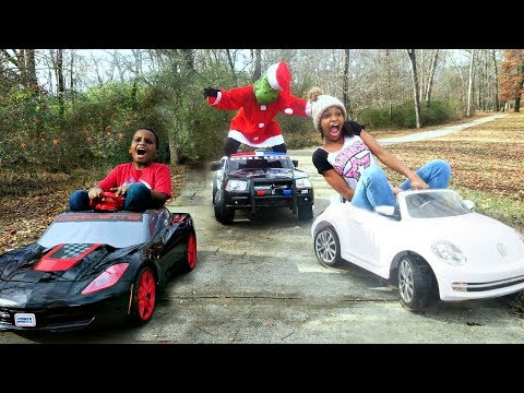 Thumbnail: Bad Baby Grinch ATTACKS Bad Kids Christmas Prank - Shasha and Shiloh - Onyx Kids