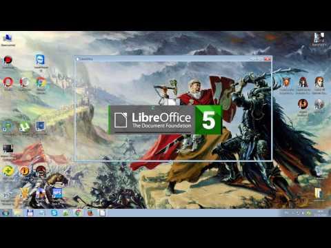 Обзор и установка программы LibreOffice