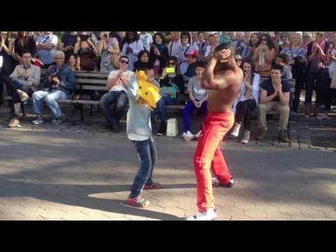 BREAKDANCE in New York Battery Park