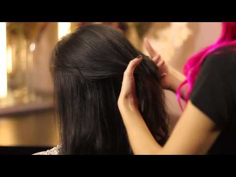 How to Style Long Hair to Go to a Wedding : Bridal & Special Event Hair