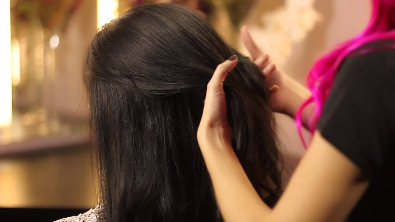 How to Style Long Hair to Go to a Wedding : Bridal & Special Event ...