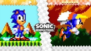 Sonic Fan Games ✪ Sonic Generations: The Lost Zones