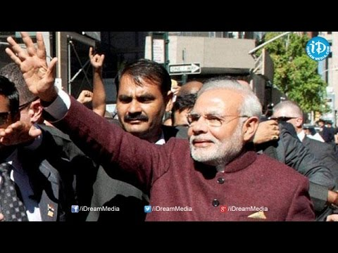Narendra Modi in USA for the First time as PM