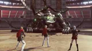 Final Fantasy TYPE-0 HD (PS4) Boss Battle : Dainsleif