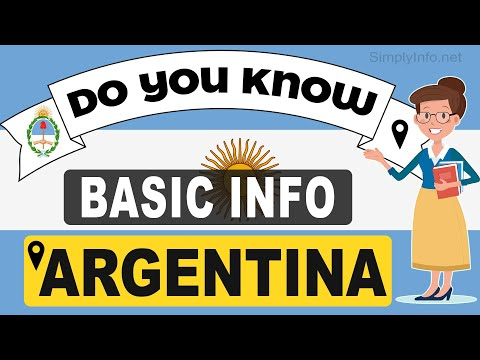 Do You Know Argentina Basic Information   World Countries Information #7 - GK & Quizzes