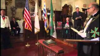 Hospitaller Order of Saint Lazarus of Jerusalem - United States Grand Priory Investiture 2011