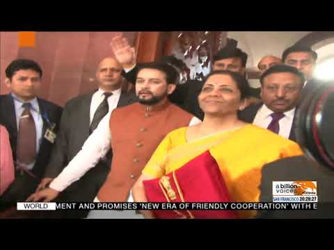 FM Nirmala Sitharaman arrives in Parliament | FM to present Budget 2020 shortly