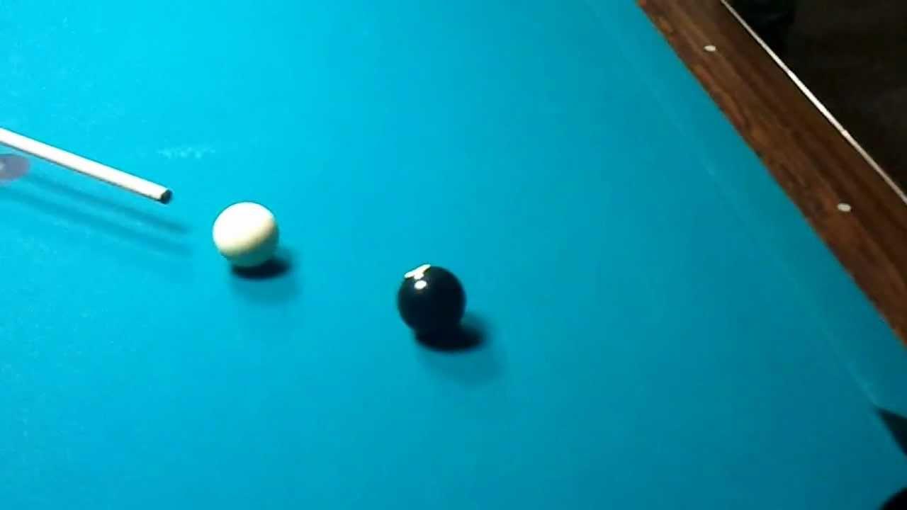 schwarze kugel billard