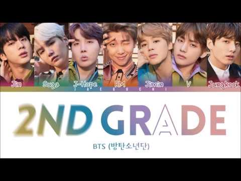 BTS - 2ND GRADE (2) (Color Coded Lyrics Eng/Rom/Han)