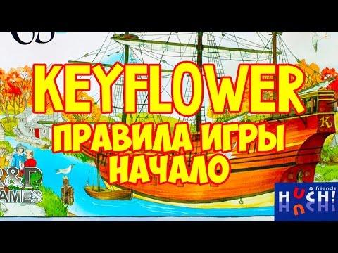 Как играть в настольную игру Keyflower. На русском языке. How To Play Keyflower. In Russian.