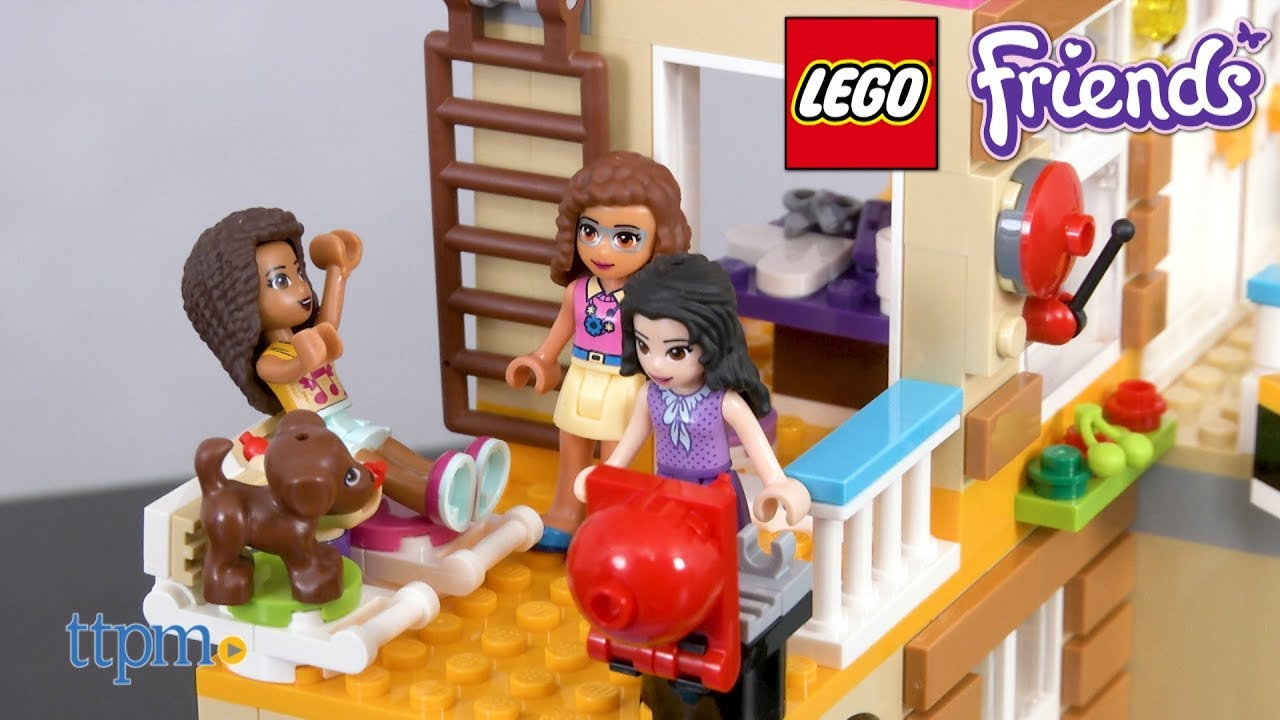 Lego Friends Friendship House From Lego Youtube