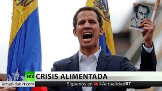 Guaidó viaja a la frontera para supervisar la ayuda humanitaria para Venezuela