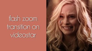 Gambar cover zoom flash transition on videostar