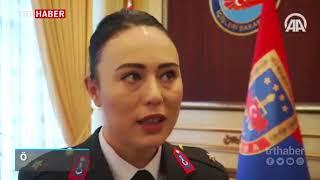 Teğmen Özlem Gören, teşkilata kadınları kazandırmak için çalışıyor