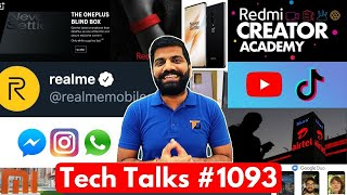 Tech Talks #1093 - Note 20+ with 865+, Xiaomi 144MP Phone, Realme New Surprise, Redmi Band, Duo