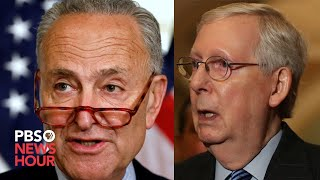 WATCH: Senate leaders hold news conference - March 17, 2020