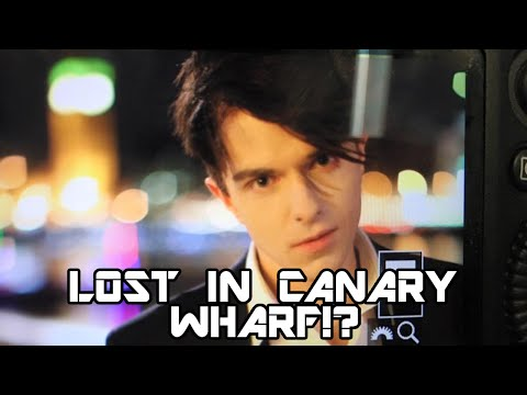 -Vlog- LOST IN CANARY WHARF & MARCO MARCO