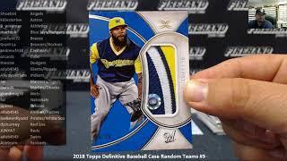 7/8/2018 2018 Topps Definitive Baseball Case Random Teams #5