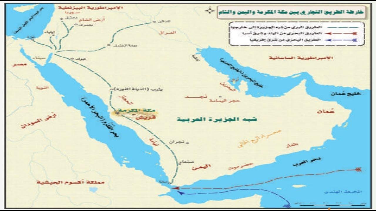 الحالة الاقتصادية في شبه الجزيرة العربية قبل الإسلام الدرس الخامس Youtube