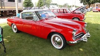 My Car Story with Lou Costabile 1953 Studebaker Commander V8 Starliner Coupe