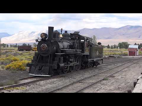 Nevada Northern 4-6-0 No. 40 - Elegant in Ely