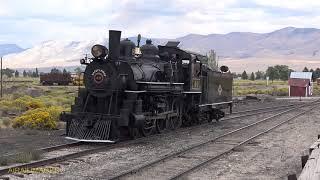 Nevada Northern 4-6-0 No. 40 - Elegant in Ely